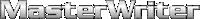 MasterWriter Mobile Logo
