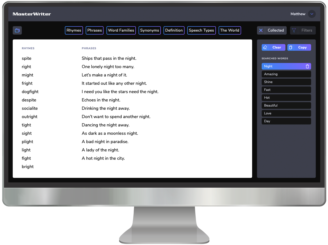 MasterWriter Songwriting Software Collected